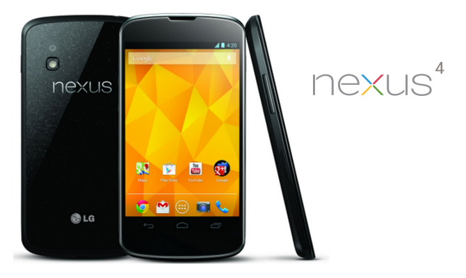 Android 6.0 Marshmallow no llegará al Nexus 4