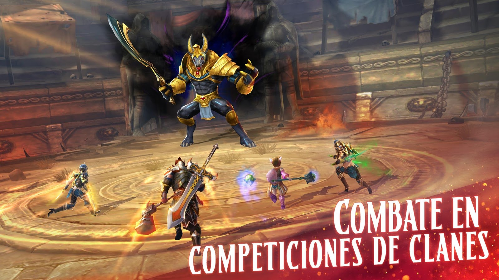 Eternity Warriors 4 ya disponible para Android e iOS 1