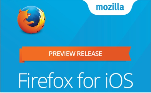 Firefox para iOS ya disponible en 'preview' 1